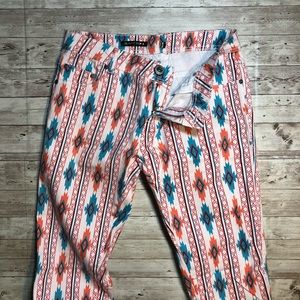 Parisian patterned jeans